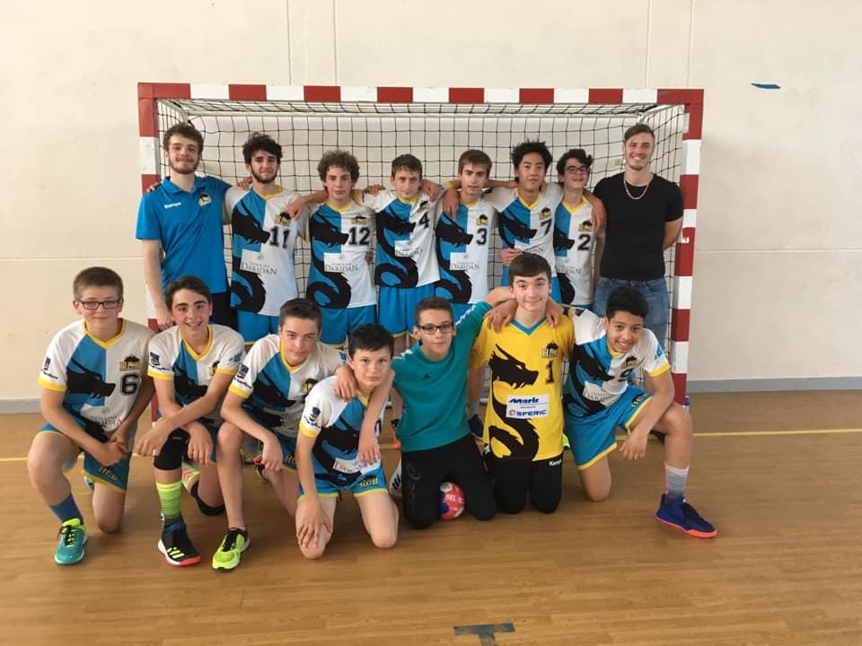 Equipe U16 garçons HCB