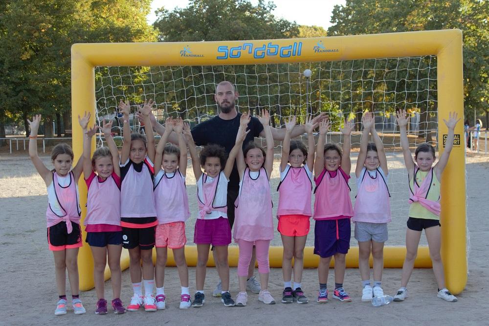 Equipe féminine -11 handball club blaisois