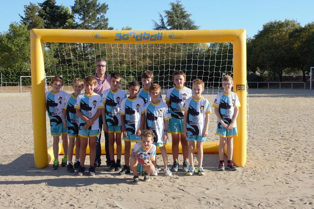 Equipe masculine -12 handball club blaisois